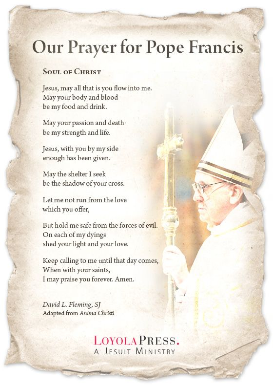 Meet Pope Francis - write him a letter, misc activities