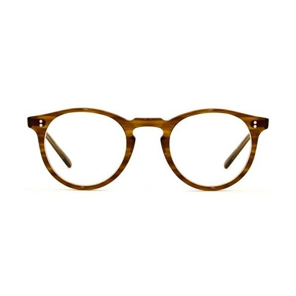 Oliver Peoples O'Malley Optical Eyewear ($350) ❤ liked on Polyvore featuring accessories, eyewear, eyeglasses, glasses, sunglasses, retro glasses, oliver peoples eye glasses, keyhole glasses, vintage glasses and oliver peoples