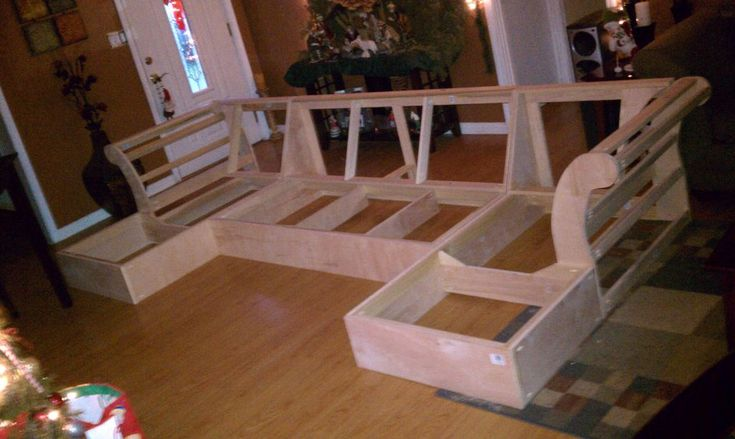 DIY Chaise Frame from Scratch