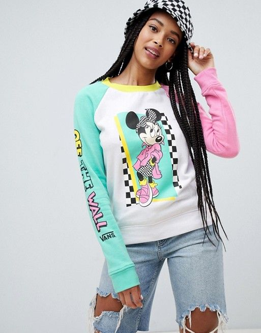 6e3677d75 Vans X Disney hyper minnie sweatshirt in 2019 | what wear ...