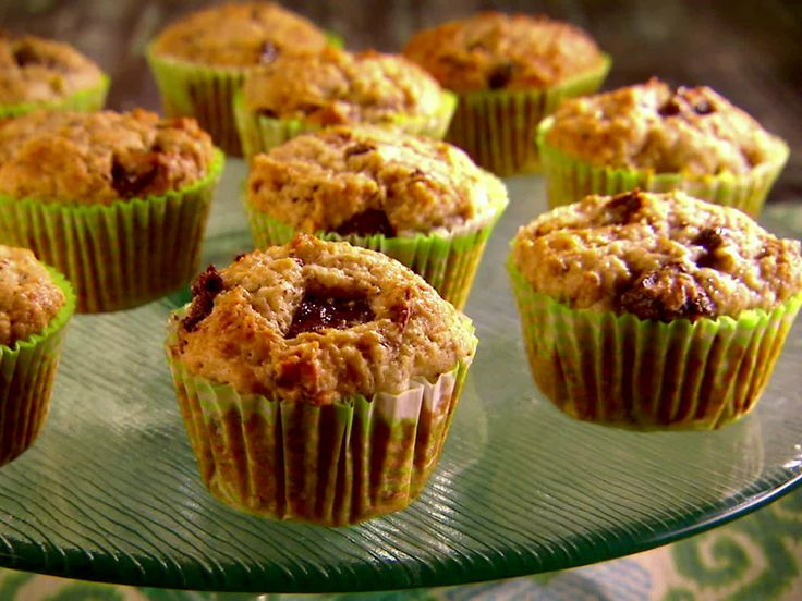 Mexican Chocolate-Banana Muffins by Marcela Valladolid from FoodNetwork.com