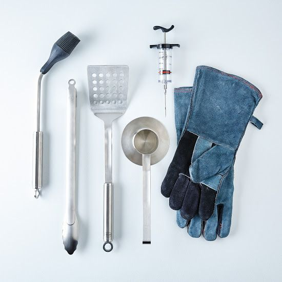Ultimate BBQ Set A six-piece collection of stainless steel tools. #food52