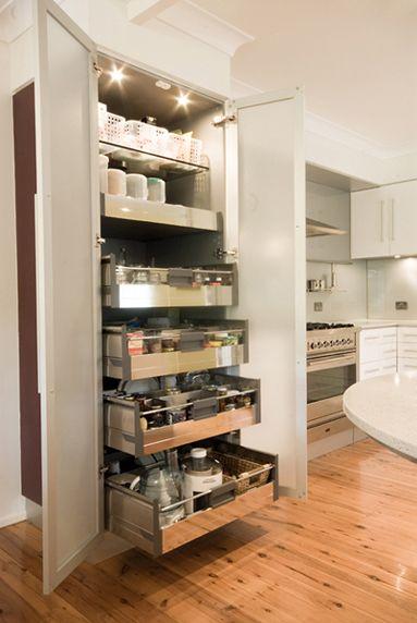 Blum Orga-line accessories & Tandembox drawer system
