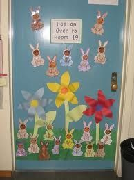 Easter Door Decorations For School