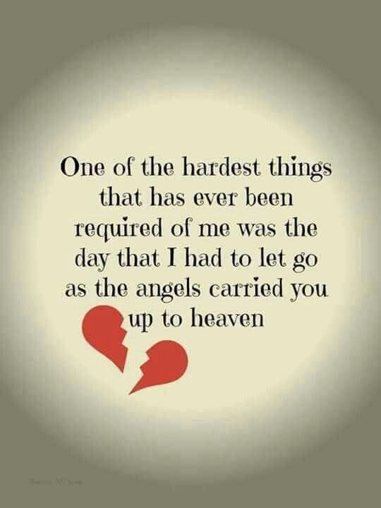 Losing you was the most difficult pain I ever endured.  Many times I didn't think I would survive it!