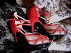 Tanzschuhe ROT - Tango Argentino - Paoul - Gr. 395 - Sandaletten - Pumps