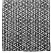 Flower Of Life Intricate Weave #5 Shower Curtain