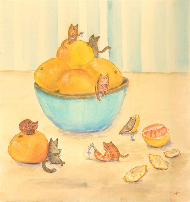 Мандариновое настроение (Tangerine mood)