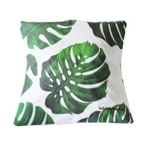 Monstera big pillowcase. Shop at www.manufakturadizajnu.pl
