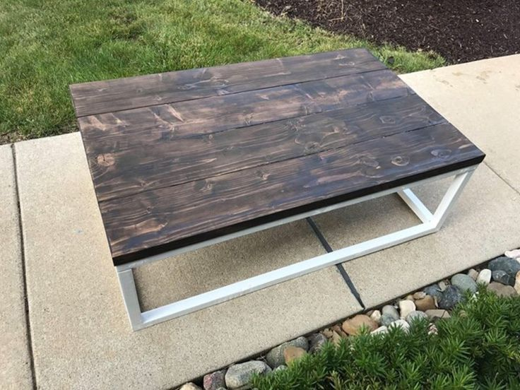 A personal favorite from my Etsy shop https://www.etsy.com/listing/544802236/farmhouse-rustic-industrial-coffee-table