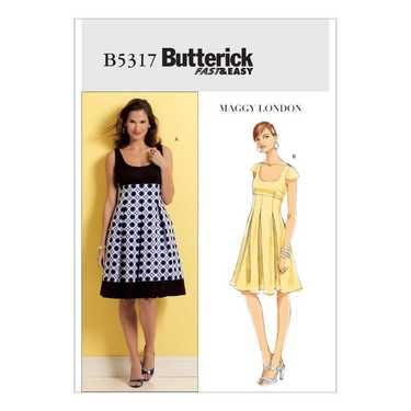 Butterick B5317 Misses' Dress