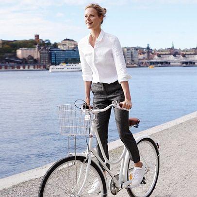 Best 10  White linen trousers ideas on Pinterest | Linen dresses ...