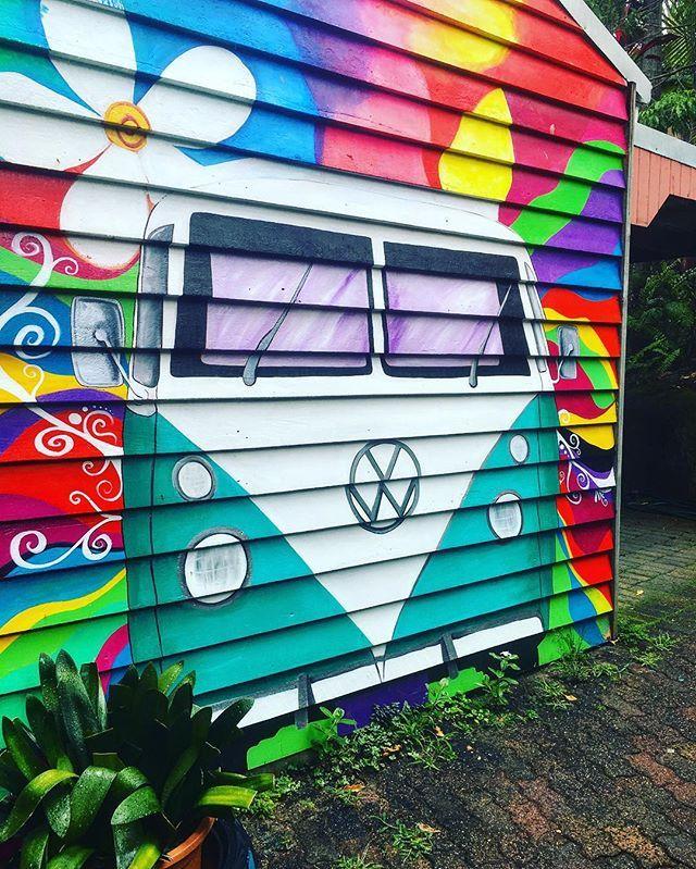 VW Street art.