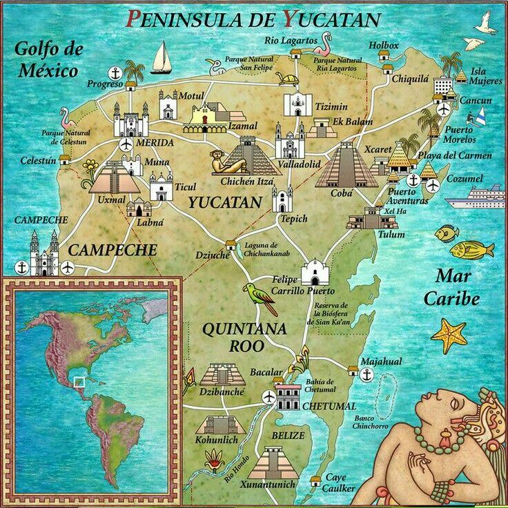The 25 best Cozumel mexico map ideas on Pinterest  Cozumel map