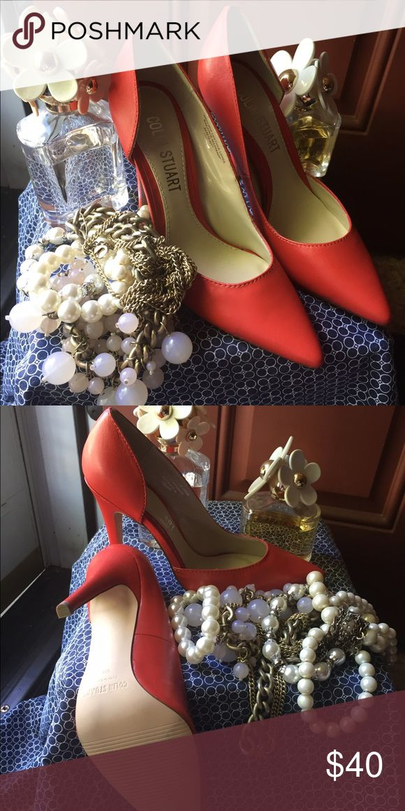 Red Colin Stuart Pump Make Offer 🌹Sexy Red Colin Stuart pump 🌹Make offer Colin Stuart Shoes Heels