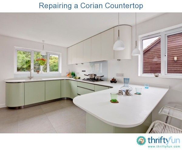 this is a guide about repairing a corian countertop a remarkably durable material this