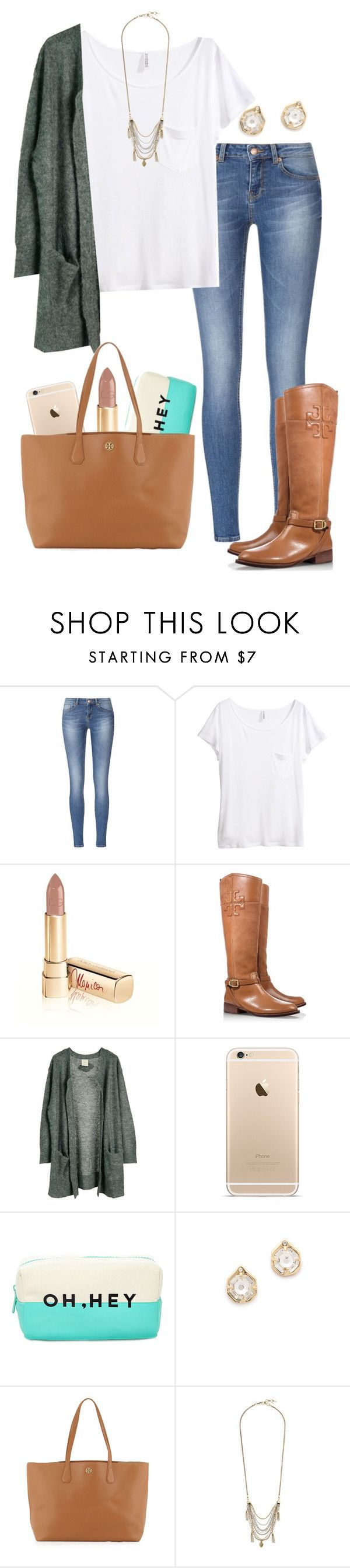 """They say she's in the class A team, stuck in her daydream "" by madelyn-abigail ❤ liked on Polyvore featuring H&M, Dolce&Gabbana, Tory Burch, Julie Fagerholt Heartmade, Forever 21, Carolyn Colby and Lucky Brand"