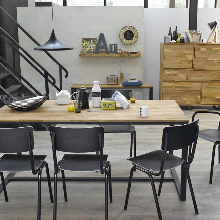 catalogue la redoute la collection dco en ambiances tendance table la redoute chaise la redoute. Black Bedroom Furniture Sets. Home Design Ideas