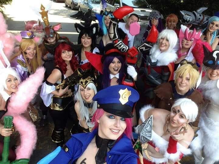 League group selfie taken by the lovely Kinpatsu