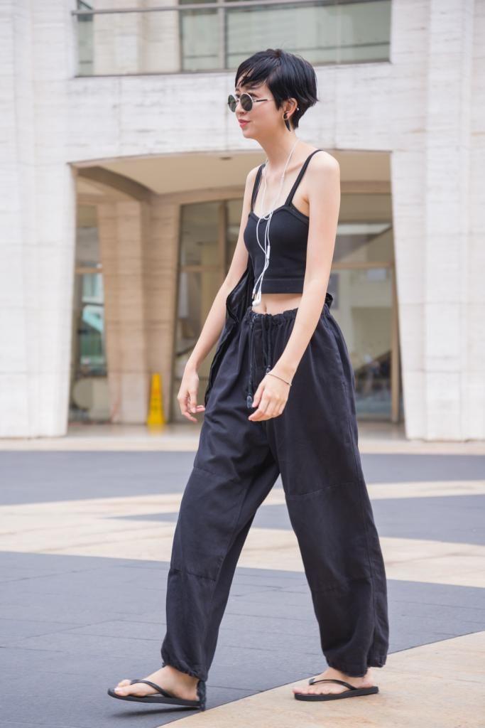 【NEWYORK】model&designer: IKUMI / Bottoms: i