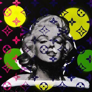 Circle Marilyn1 ニューヨークギャラリー   表参道 Shane Bowden   シェーン ボーデン