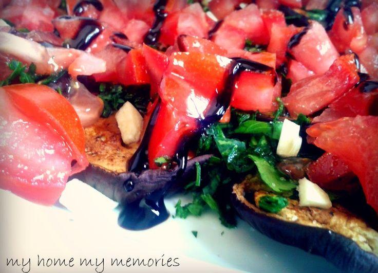 My home My memories: Σαλάτα με μελιτζάνες