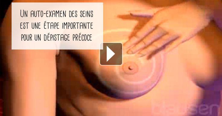 L'auto-examen des seins doit être effectué au même moment chaque mois, juste à la fin du cycle menstruel !