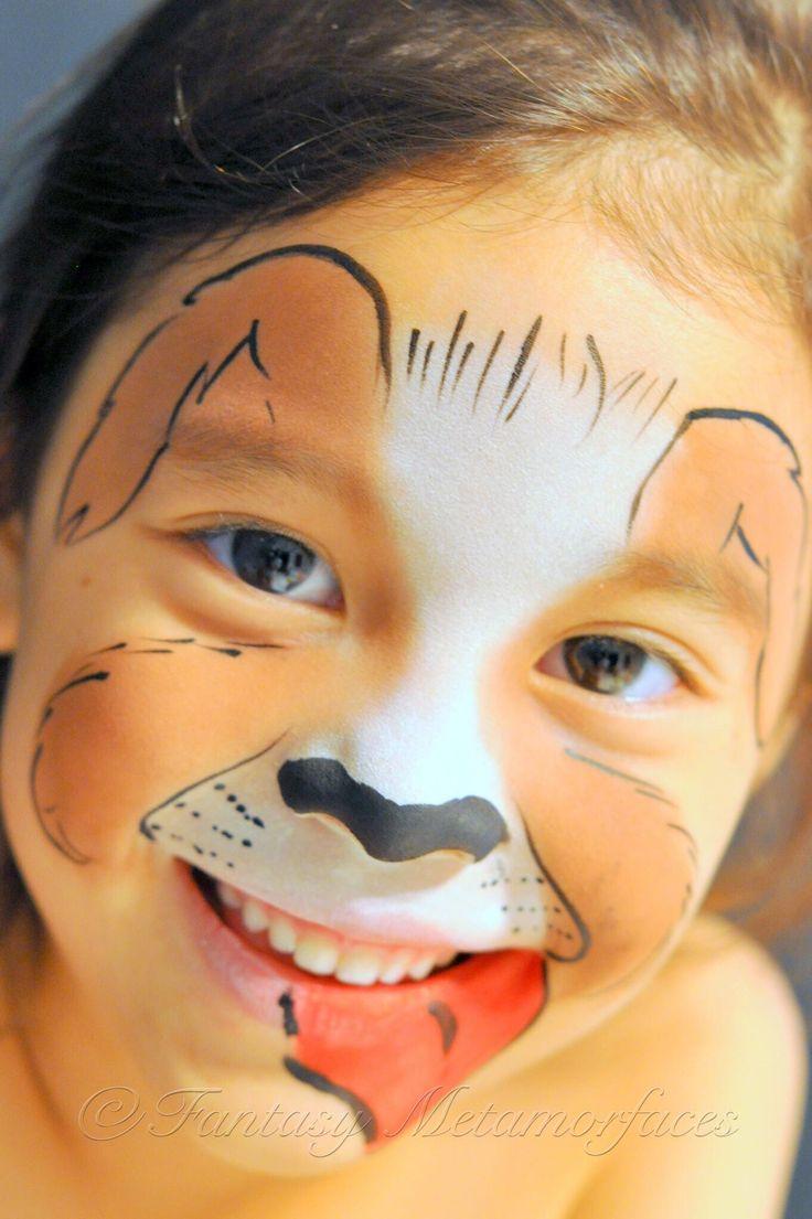Uncategorized Face Painting Dog the 25 best puppy face paint ideas on pinterest dog paints dogpuppy paint