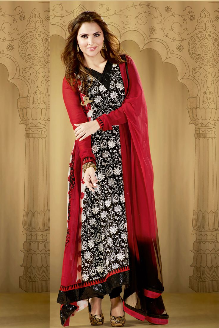 Bollywood Actress Lara Dutta Inspired Latest Party Wear Salwar Kameez