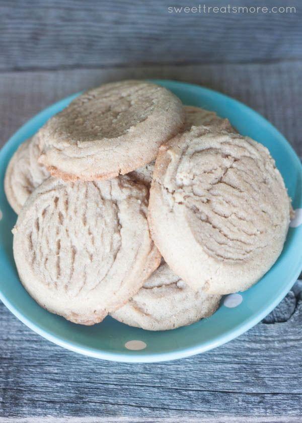 Brown Sugar Cinnamon Coconut Oil Cookies || Sweet Treats and More