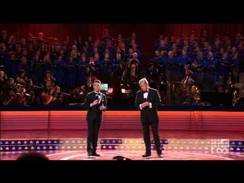 ▶ Denis Walter, Harrison Craig - Do You Hear What I Hear - Carols by Candlelight 2014 - YouTube- this was one of the best performances of the night