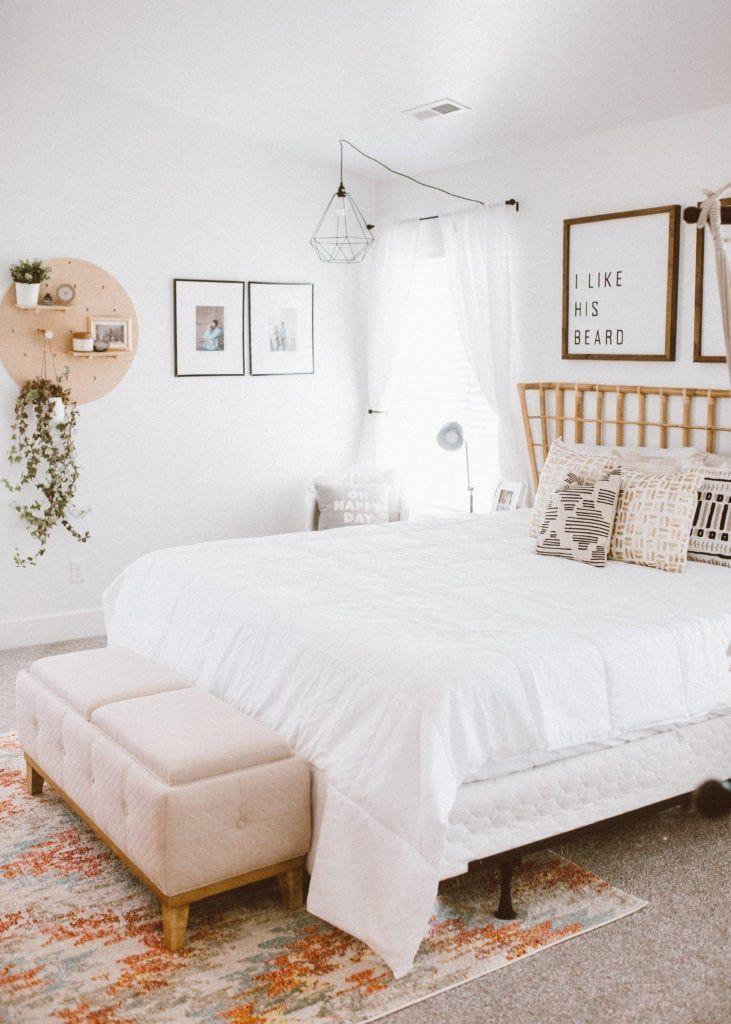 Best Boho Inspired Master Bedroom Dream Home Modern 400 x 300