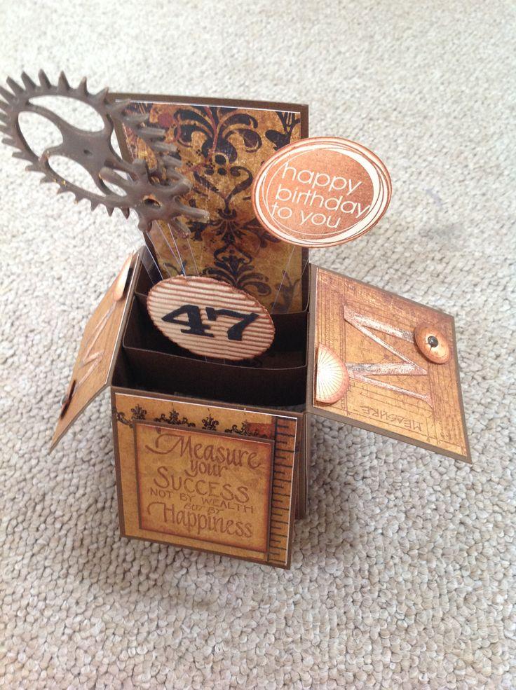 Measure Box by Susan of Art Attic Studio