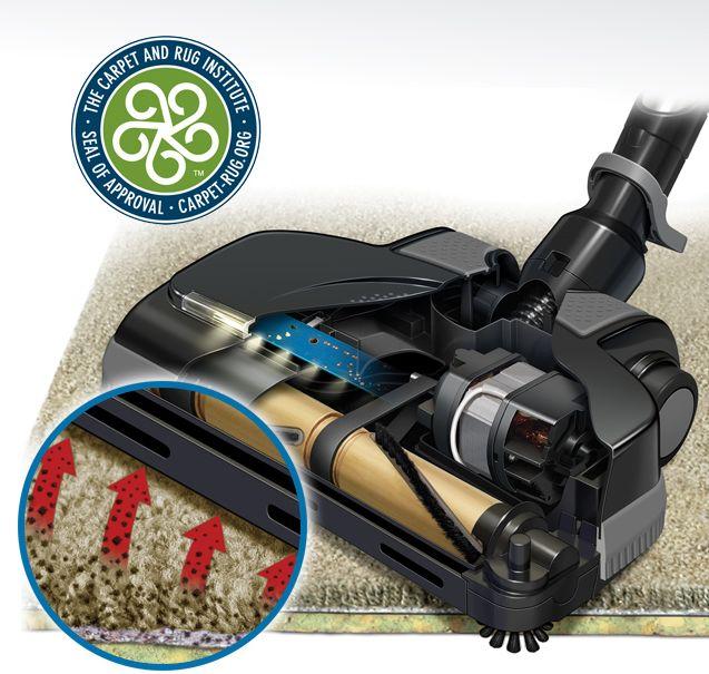 """Carpet and Rug InstituteIl Carpet and Rug Institute Seal of Approval è universalmente riconosciuto da produttori di tappeti, dettaglianti e consumatori esperti. Per ricevere questo ambito """"marchio"""", si deve dimostrare che i prodotti siano conformi agli standard rigidi di pulizia senza danneggiare il tappeto.Prodotti certificati dal CRI hanno comprovato la pulizia dei tappeti, convalidando così l'investimento dell'utente. Non tutti i prodotti puliscono bene a sufficienza per ricevere questo…"""