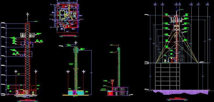 Torres de telefonia, en Telecomunicaciones - Infraestructura