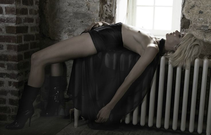 Title: Of Human Bondage Magazine: Dansk #26 Fall/Winter 2011 Model: Delfine Bafort Photographer: Kate Orne Stylist: Christine de Lassus