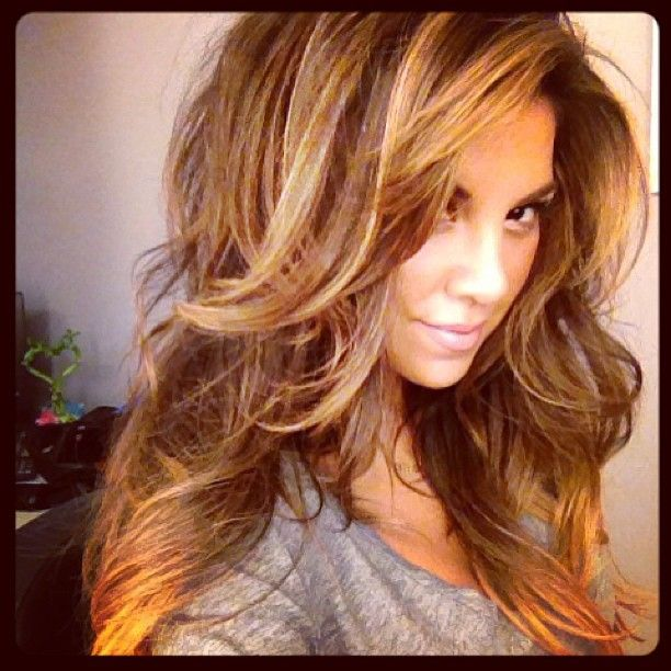 Great color and long layers for me!