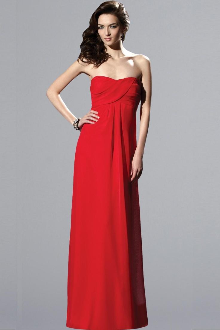 75 best bridesmaids ideas images on pinterest bridesmaids red chiffon bridesmaid dress ombrellifo Images