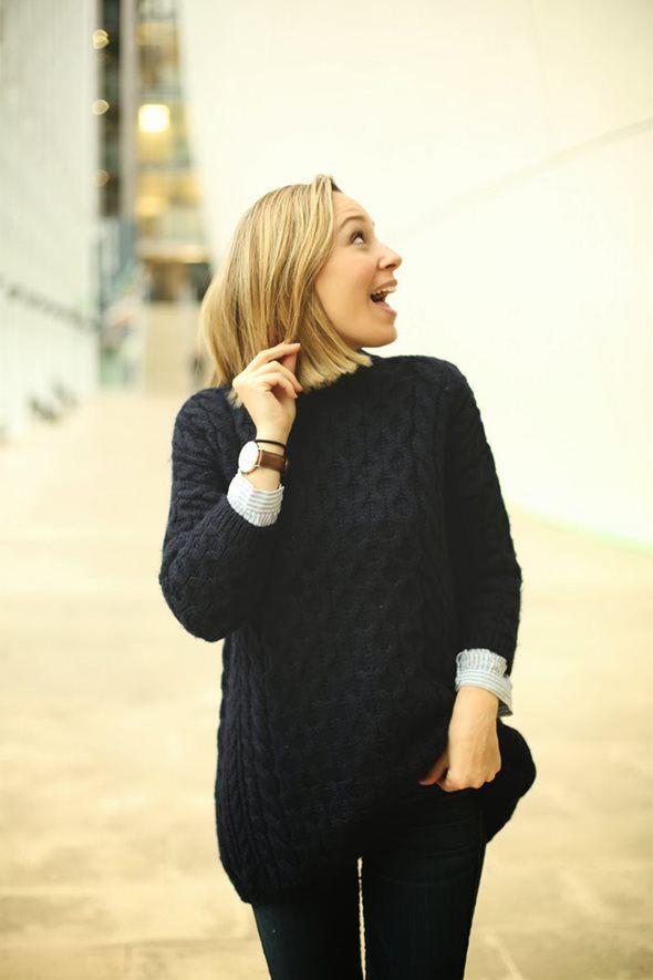 シャツ+ニット|Priscilla Betancort