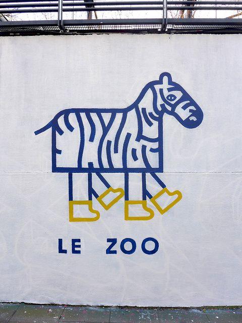Faux Zèbre by BisePauline., via Flickr