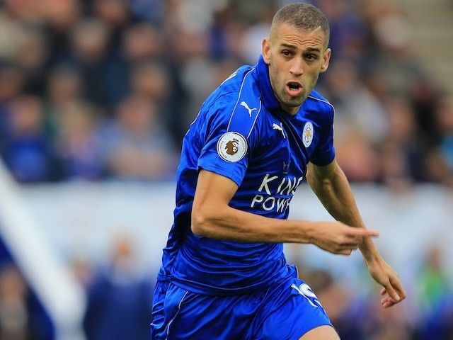 Islam Slimani to miss Leicester City's Champions League match with FC Copenhagen