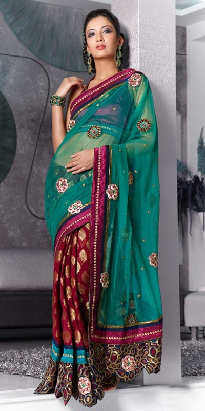 Saree...  Always wanted to wear one but wouldn't even begin to know how or where to get one