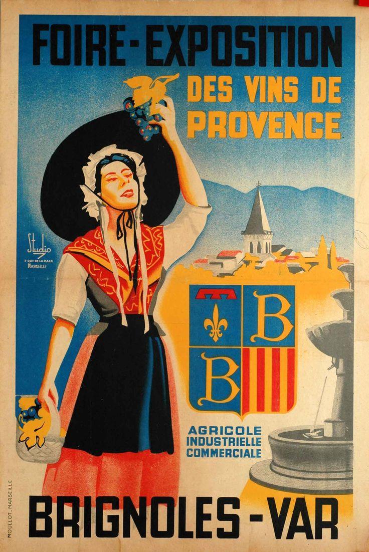 Foire-Exposition des vins de Provence - Brignoles, Var -   Travel ...