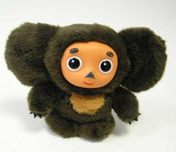 Детская игрушка - плюшевый чебурашка из нашего детства. Размер 20 см. Музыкальный. Говорит и поет песенки голосом Чебурашки из мультика))