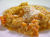 Saffron Risotto with Butternut Squash, this may be the best Rissoto I've ever made.