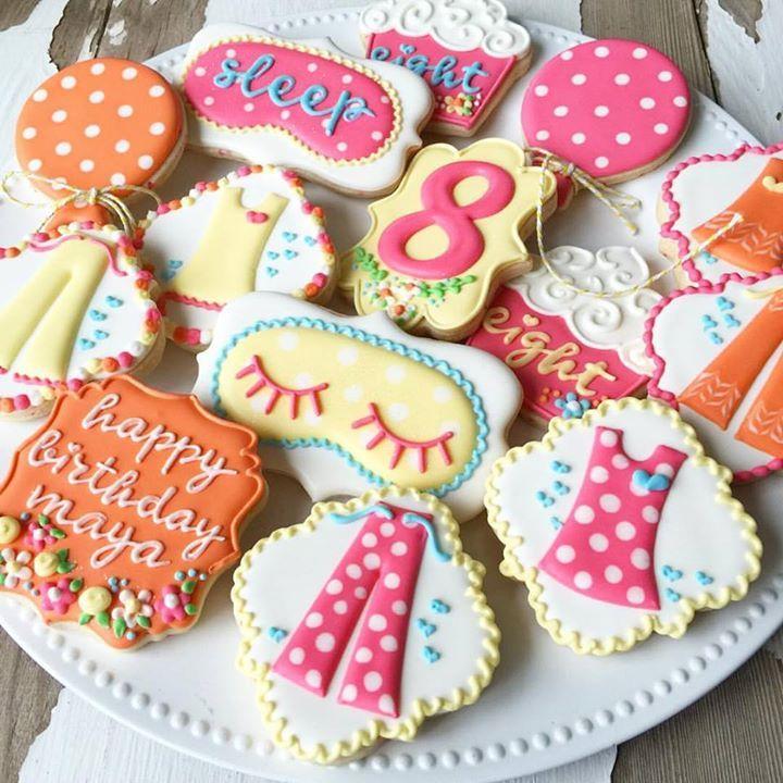 sleepover cookies