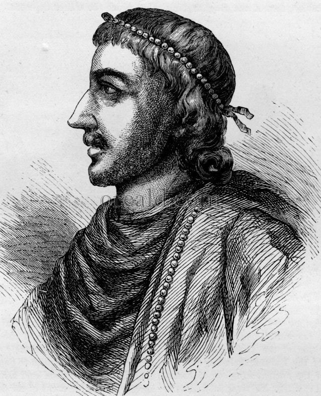 Canute 1016-35. Canute became undisputed King of England in 1016, and his rivals (Ethelred's surviving sons and Edmund's son) fled abroad. In 1018, the last Danegeld of 82,500 pounds was paid to Canute. Ruthless but capable, Canute consolidated his position by marrying Ethelred's widow Emma. During his reign, Canute also became King of Denmark and Norway; his inheritance and formidable personality combined to make him overlord of a huge northern empire.