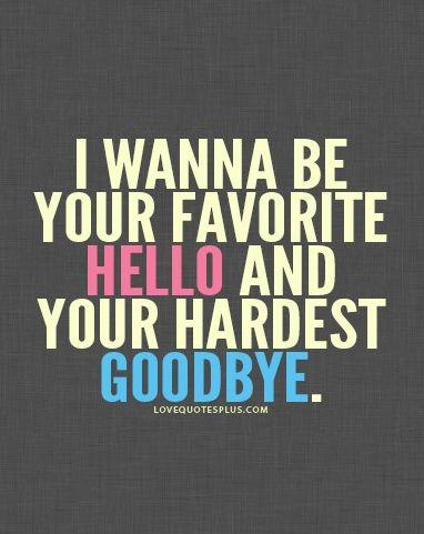 Hello ~ Goodbye
