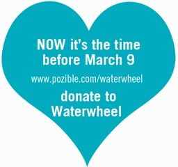 corwdfunding campaign ends on 9 March on  http://pozible.com/waterwheel