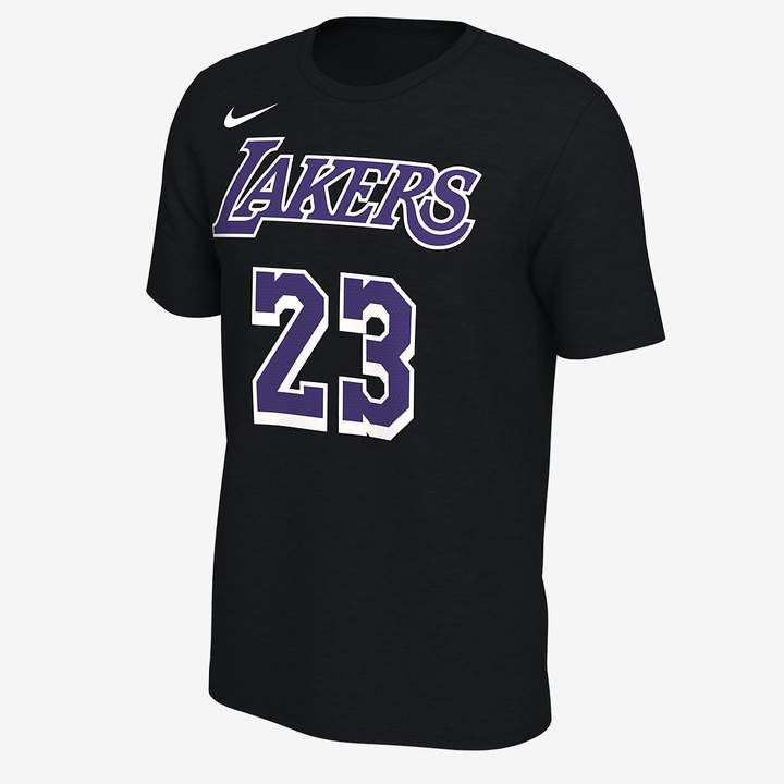 dd6eefac LeBron James Los Angeles Lakers Nike Dri-FIT Men's NBA T-Shirt | I'm ...